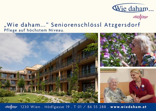 """Wie daham…"" Seniorenschlössl Atzgersdorf"